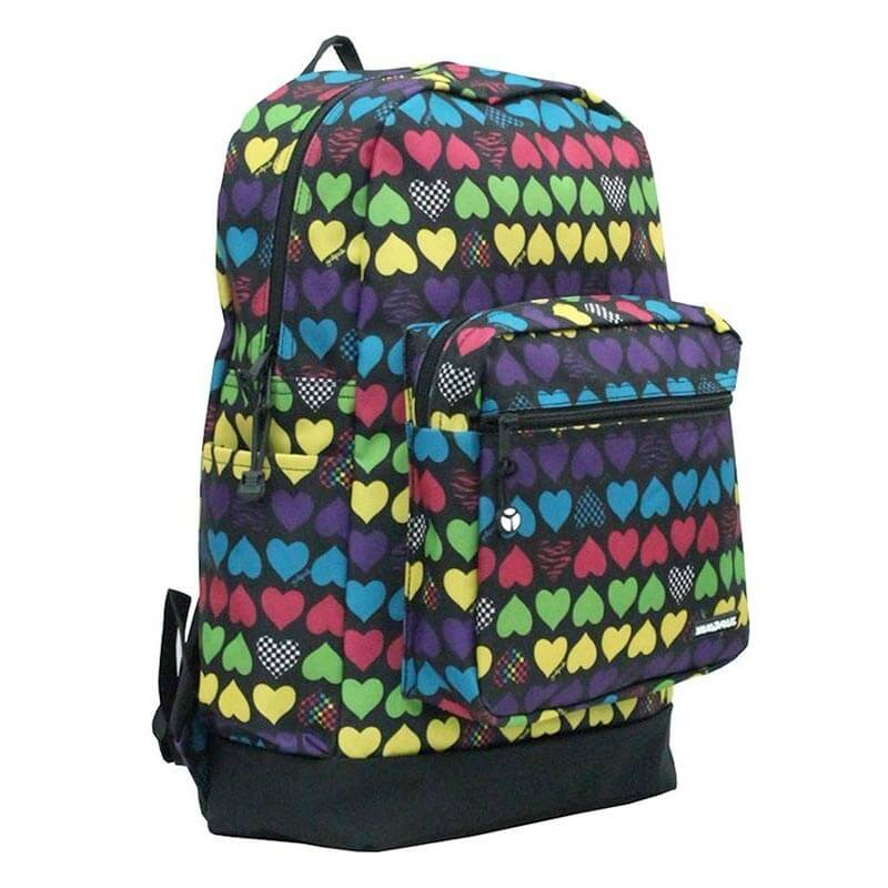 Yak Pak Coloured Hearts Medium
