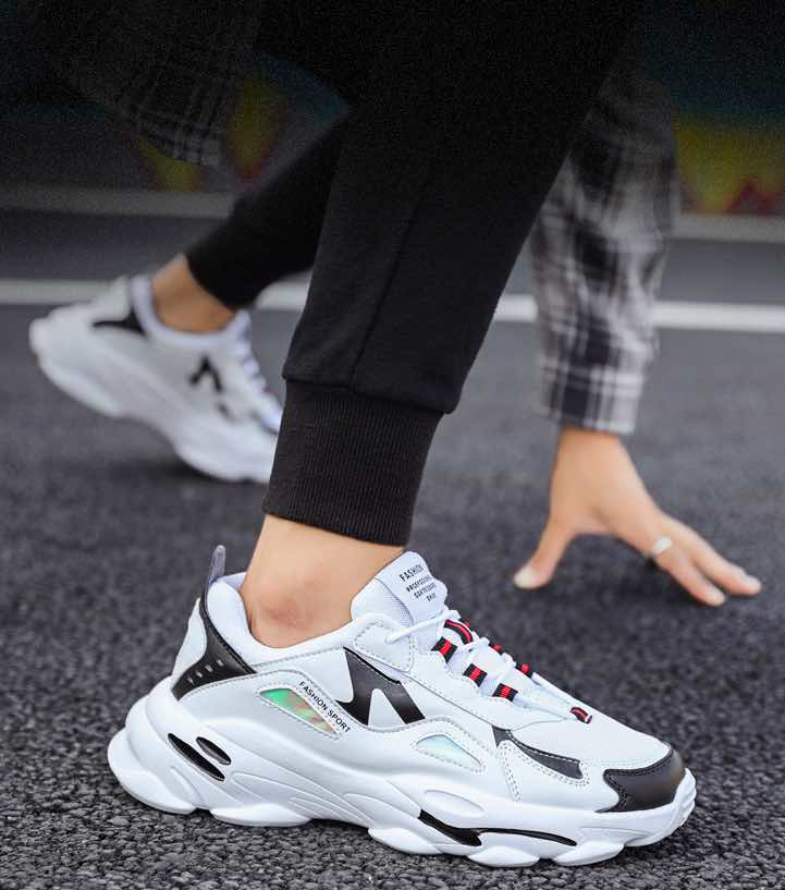 Sneakers Blanches Pas Cher