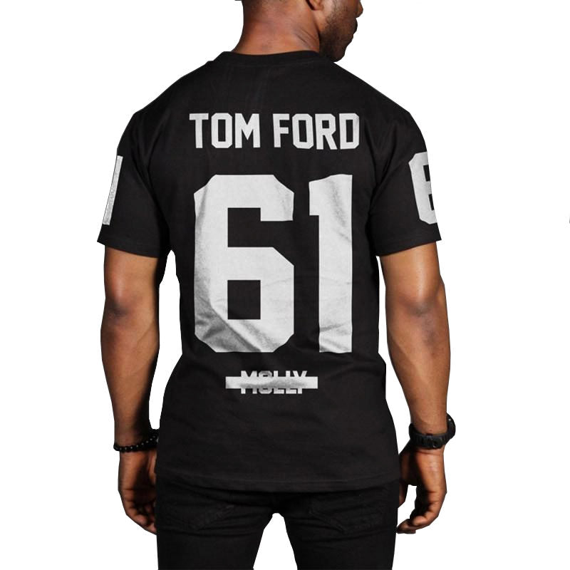 T-shirt Noir Tom Ford
