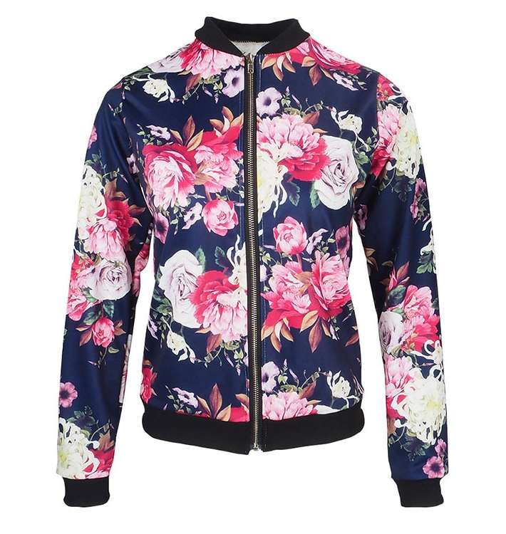Veste Flower Power