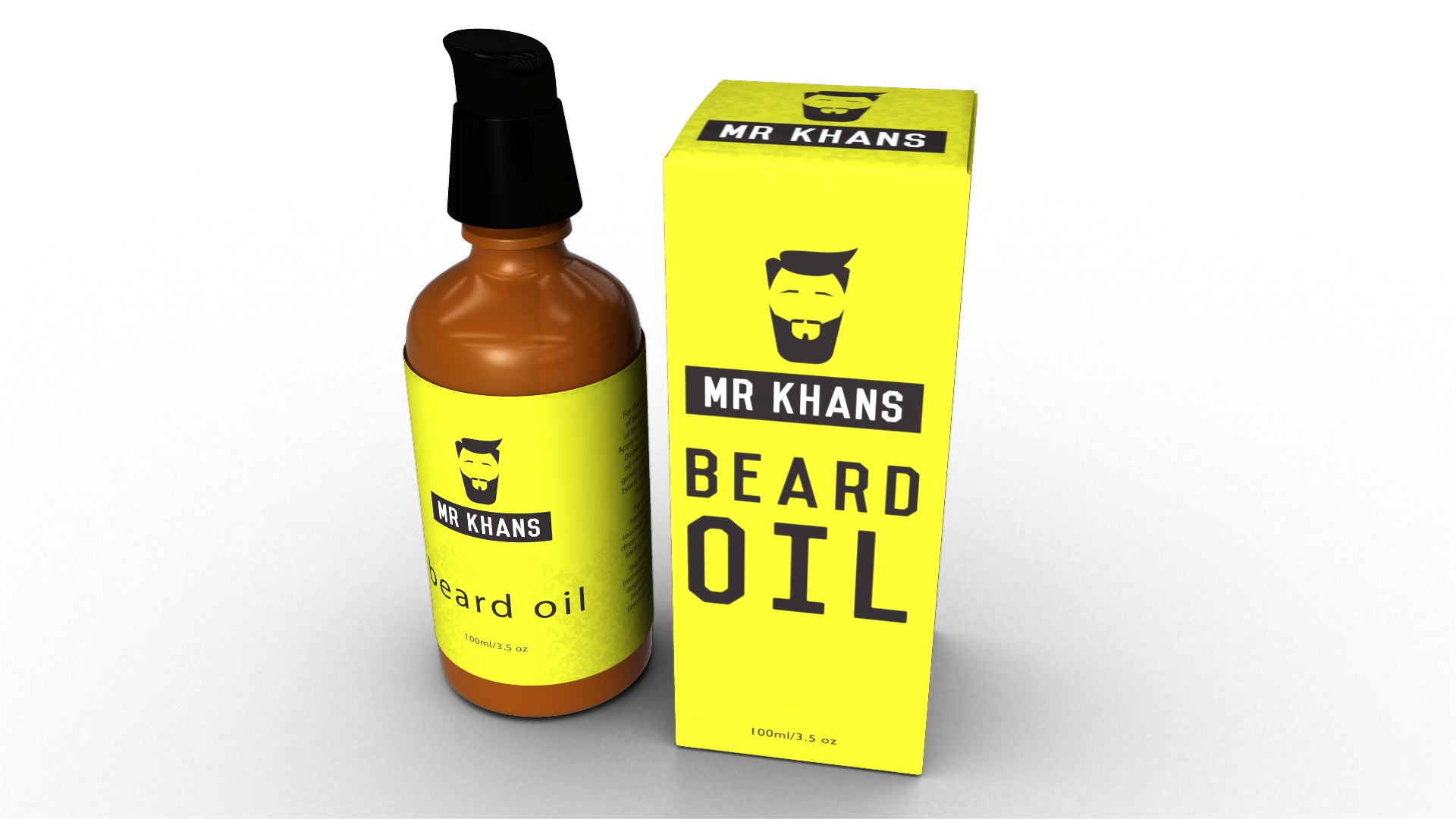 Mr Khans Beard Oil 100ml, Hair Styling Products by My Wholesale Warehouse