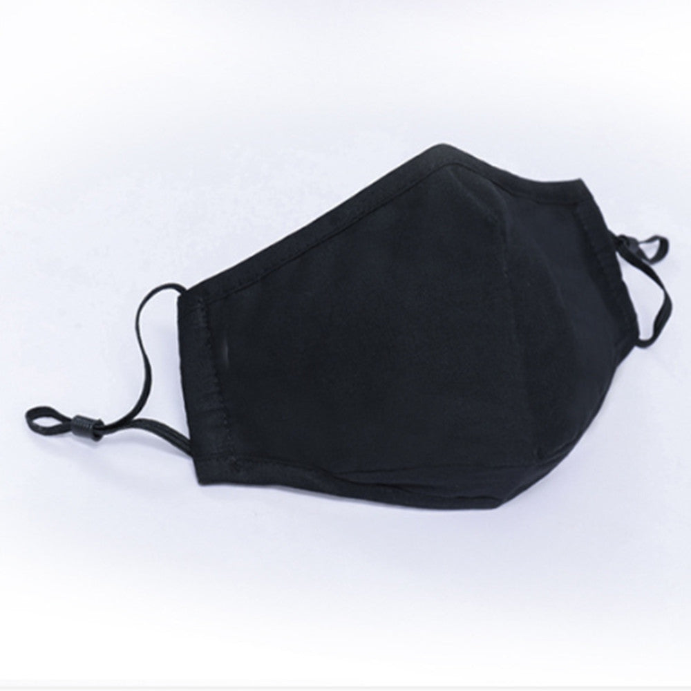 Generise Reusable Adjustable Face Mask with Filter Pocket and PM 2.5 Filter- Unisex- Black, Work Safety Protective Equipment by My Wholesale Warehouse