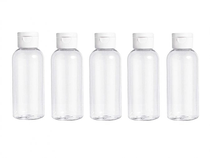 50ml Empty Bottle and Flip Lid x1 by  My Wholesale Warehouse