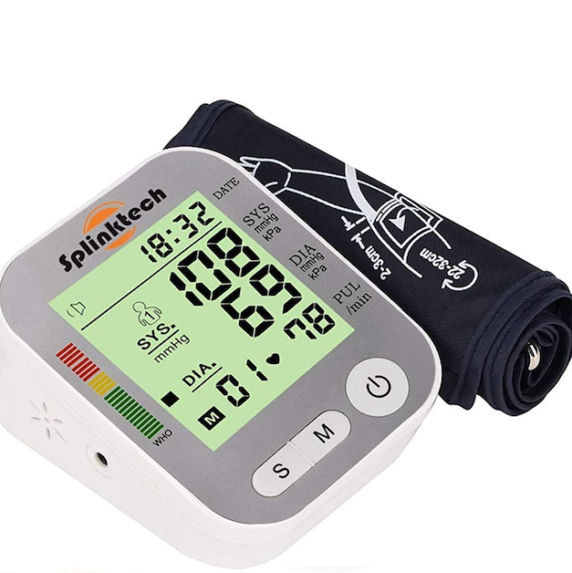 Generise Arm Blood Pressure Monitor - Silver, Health Care by My Wholesale Warehouse
