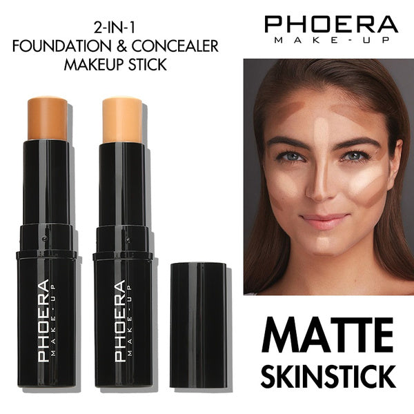 Phoera Matte Skinstick, Face Makeup by My Wholesale Warehouse