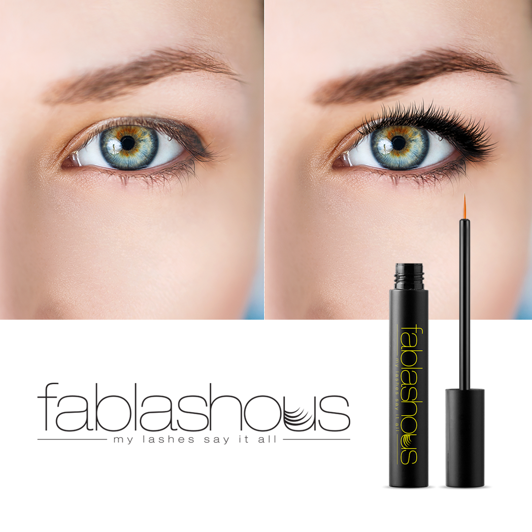 Fablashous Luxury Eyelash Eye Lash and Eyebrow Enhancer by  My Wholesale Warehouse