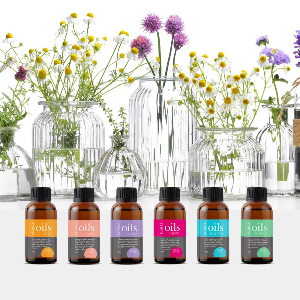 Glamza Premium Essential Oils - 100% Pure & Natural by  My Wholesale Warehouse