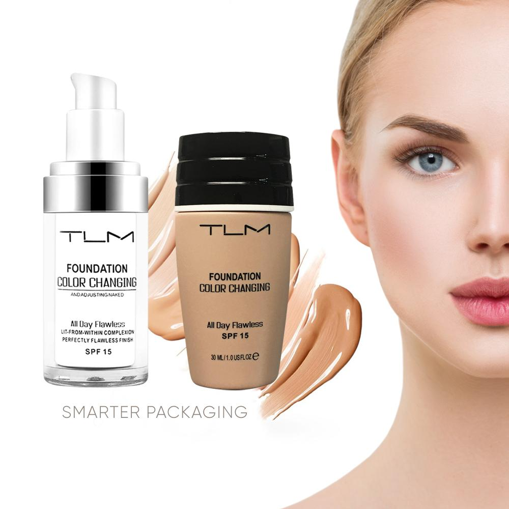 TLM™ Color Changing Foundation - Smart Packaging, Face Makeup by My Wholesale Warehouse