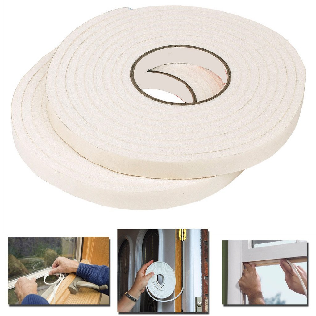Generise Foam Draught Strip- 5M (Two Pack), Weather Stripping & Weatherisation Supplies - Image 3