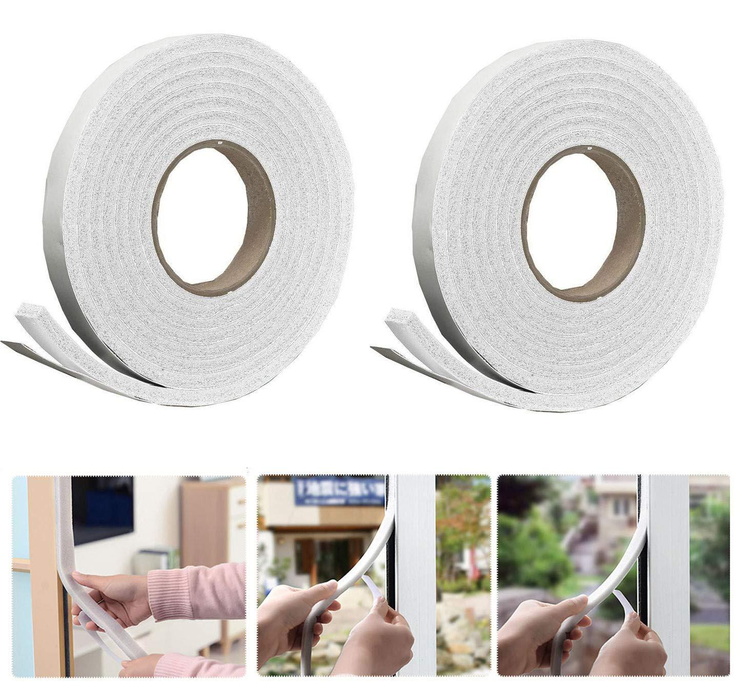 Generise Foam Draught Strip- 5M (Two Pack), Weather Stripping & Weatherisation Supplies - Image 2
