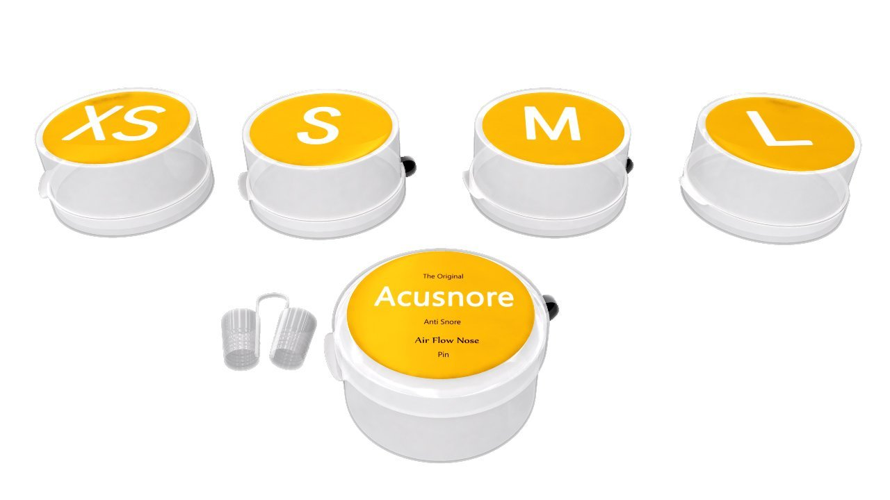 Acusnore Air Flow Nose Pin by  My Wholesale Warehouse