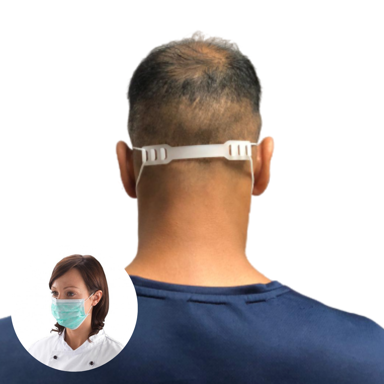 Generise Adjustable Face Mask Support Strap, Work Safety Protective Equipment by My Wholesale Warehouse