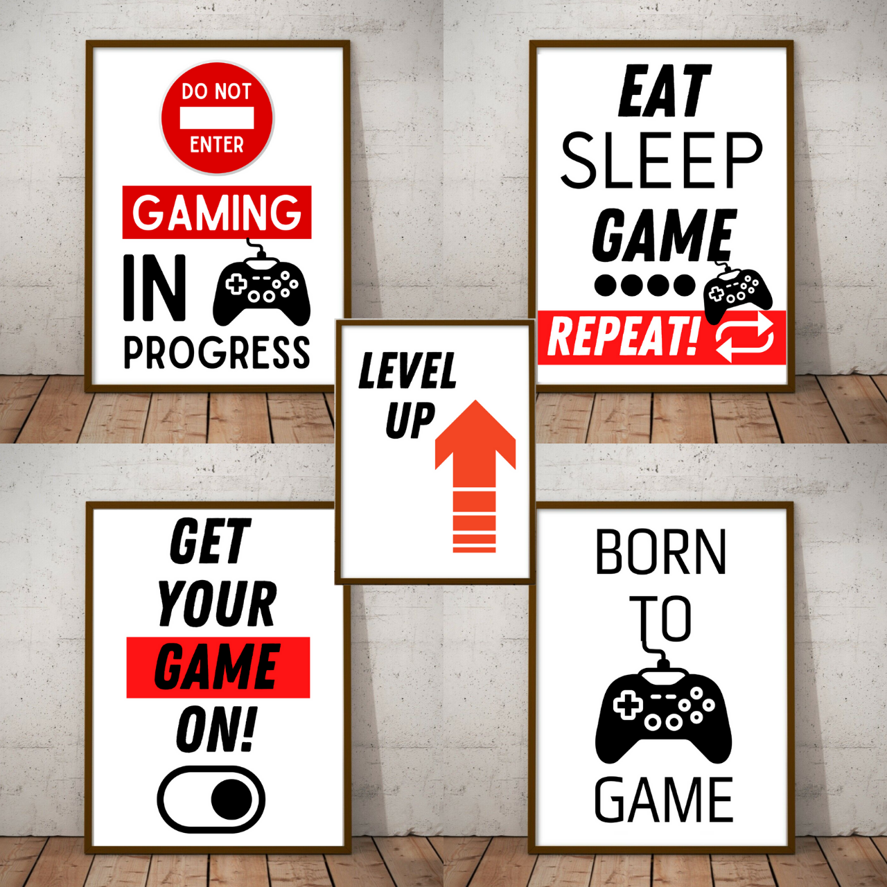 Generise Gaming Prints by  My Wholesale Warehouse