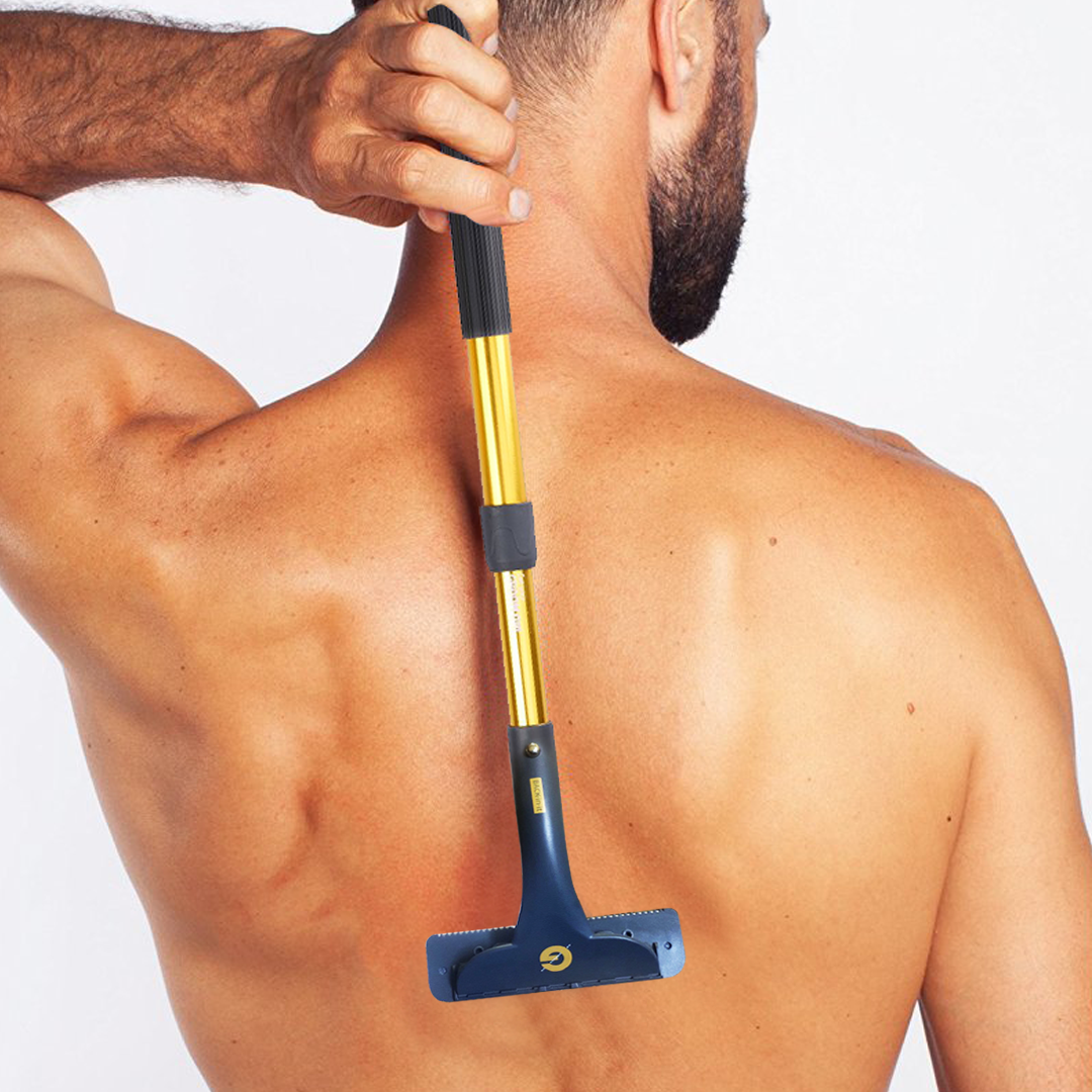 Groomarang 'Back In It'  Back and Body Hair Removal Device, Shaving & Grooming by My Wholesale Warehouse
