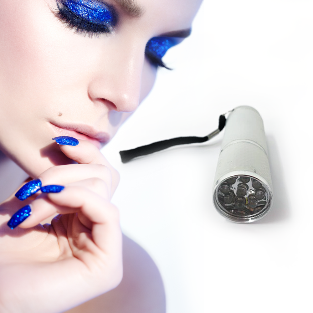 Nail Cure LED Portable Light- White, Cosmetic Tools by My Wholesale Warehouse