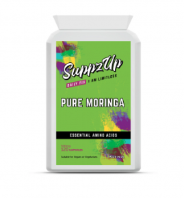 SUPPZUP -MORINGA 500MG 120 CAPSULES, Health Care by My Wholesale Warehouse