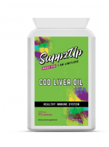 SUPPZUP- COD LIVER OIL 1000MG 90 CAPSULES, Health Care by My Wholesale Warehouse