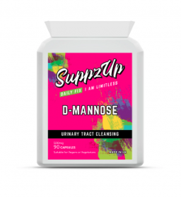 SUPPZUP- D-MANNOSE 500MG 90 CAPSULES, Health & Beauty by My Wholesale Warehouse