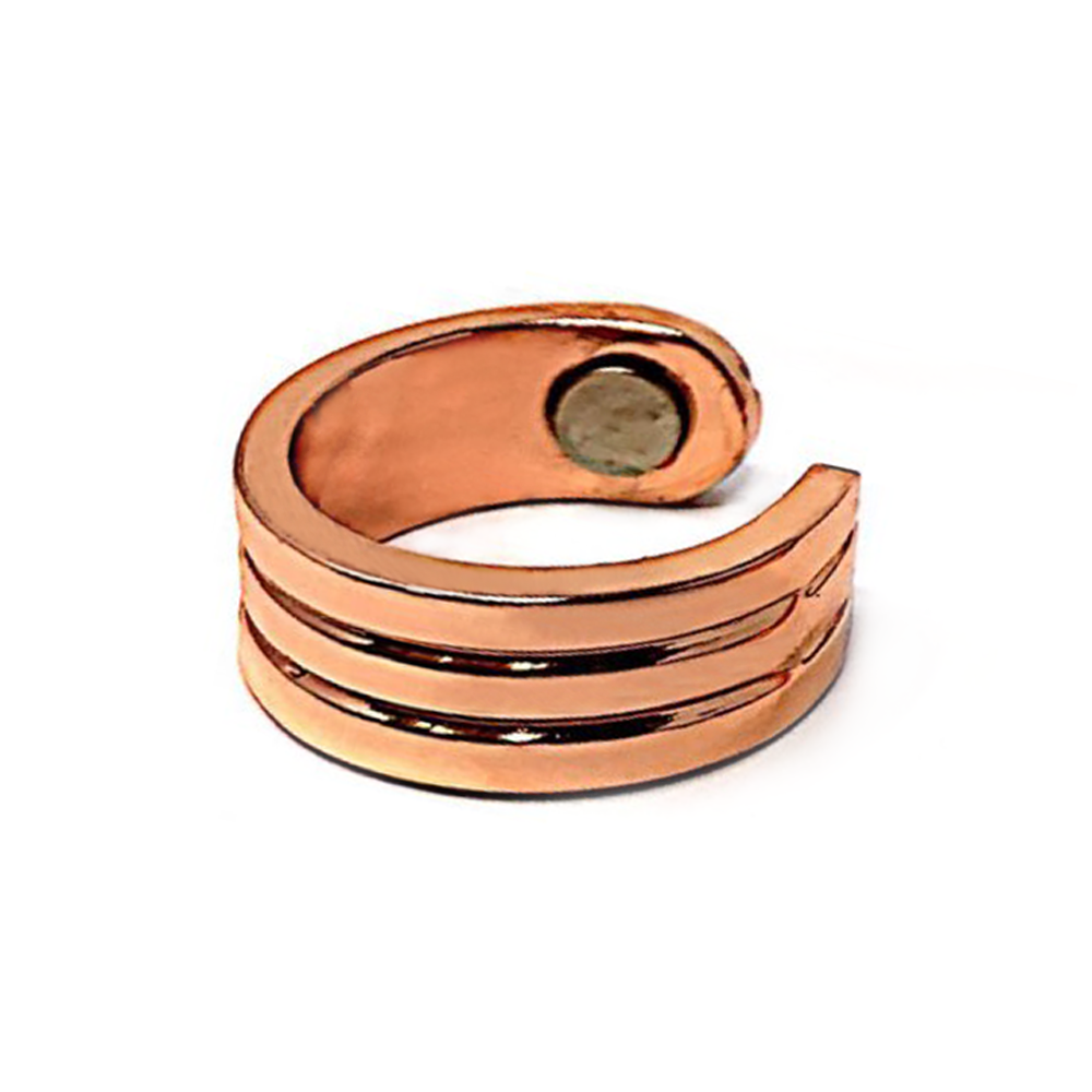 Acusoothe Magnetic Copper Ring, Rings - Image 0