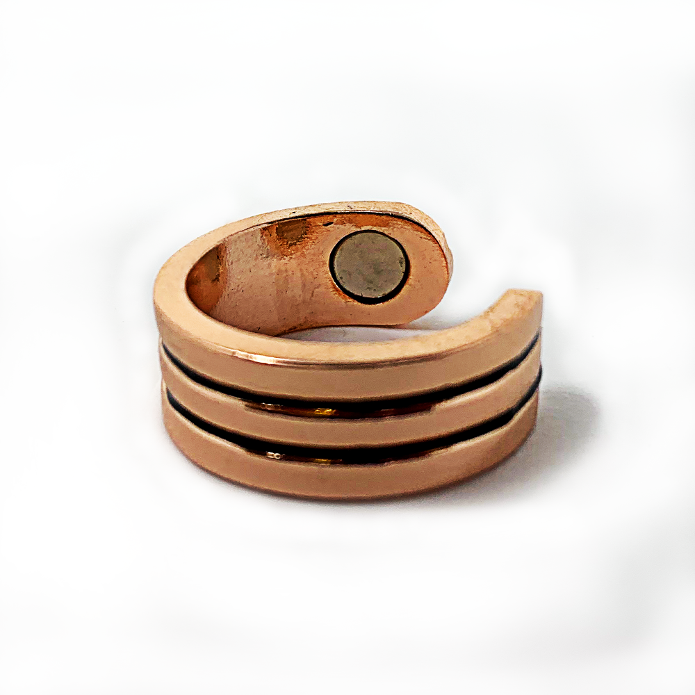 Acusoothe Magnetic Copper Ring, Rings - Image 3