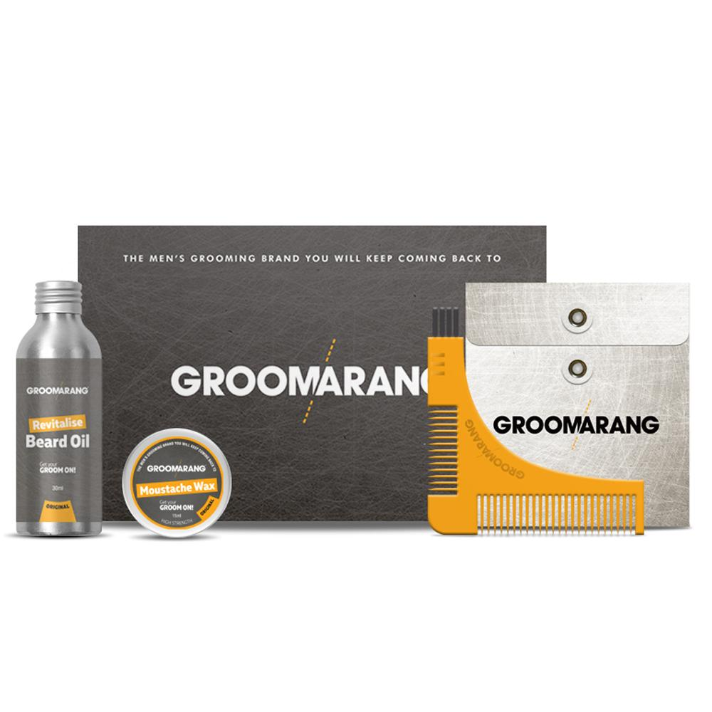 Groomarang Essential Collection, Hair Styling Products by My Wholesale Warehouse