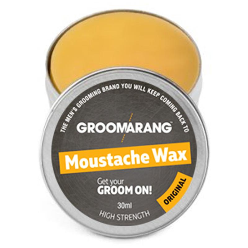 Groomarang Original Moustache Wax, Hair Styling Products - Image 1