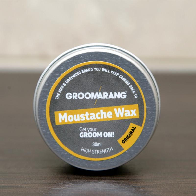 Groomarang Original Moustache Wax, Hair Styling Products - Image 3