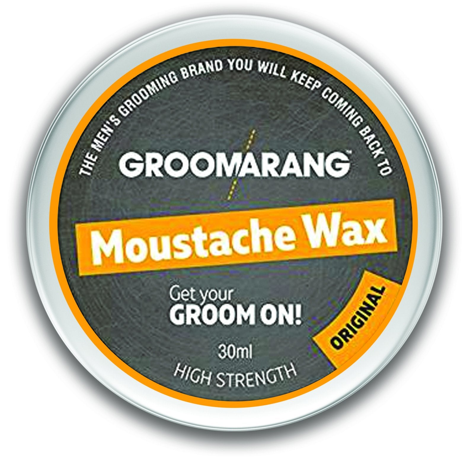 Groomarang Original Moustache Wax, Hair Styling Products - Image 0