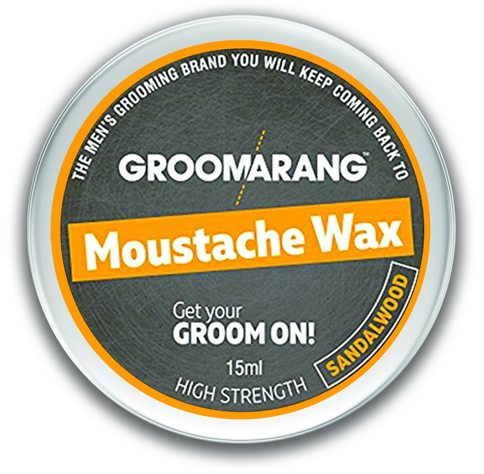 Groomarang Sandalwood Moustache Wax 15ml, Hair Styling Products by My Wholesale Warehouse