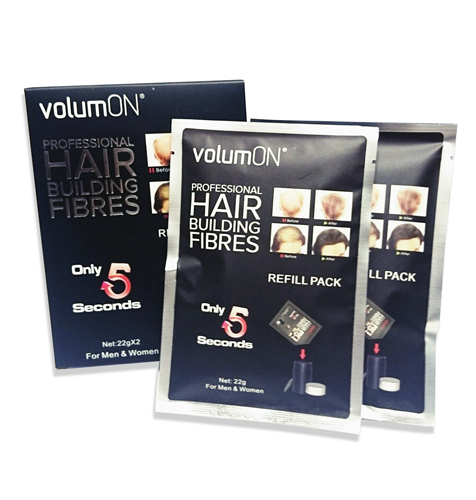 Volumon Hair Loss Concealer - Refill Box Pack Cotton 22g x 2, Hair Care by My Wholesale Warehouse