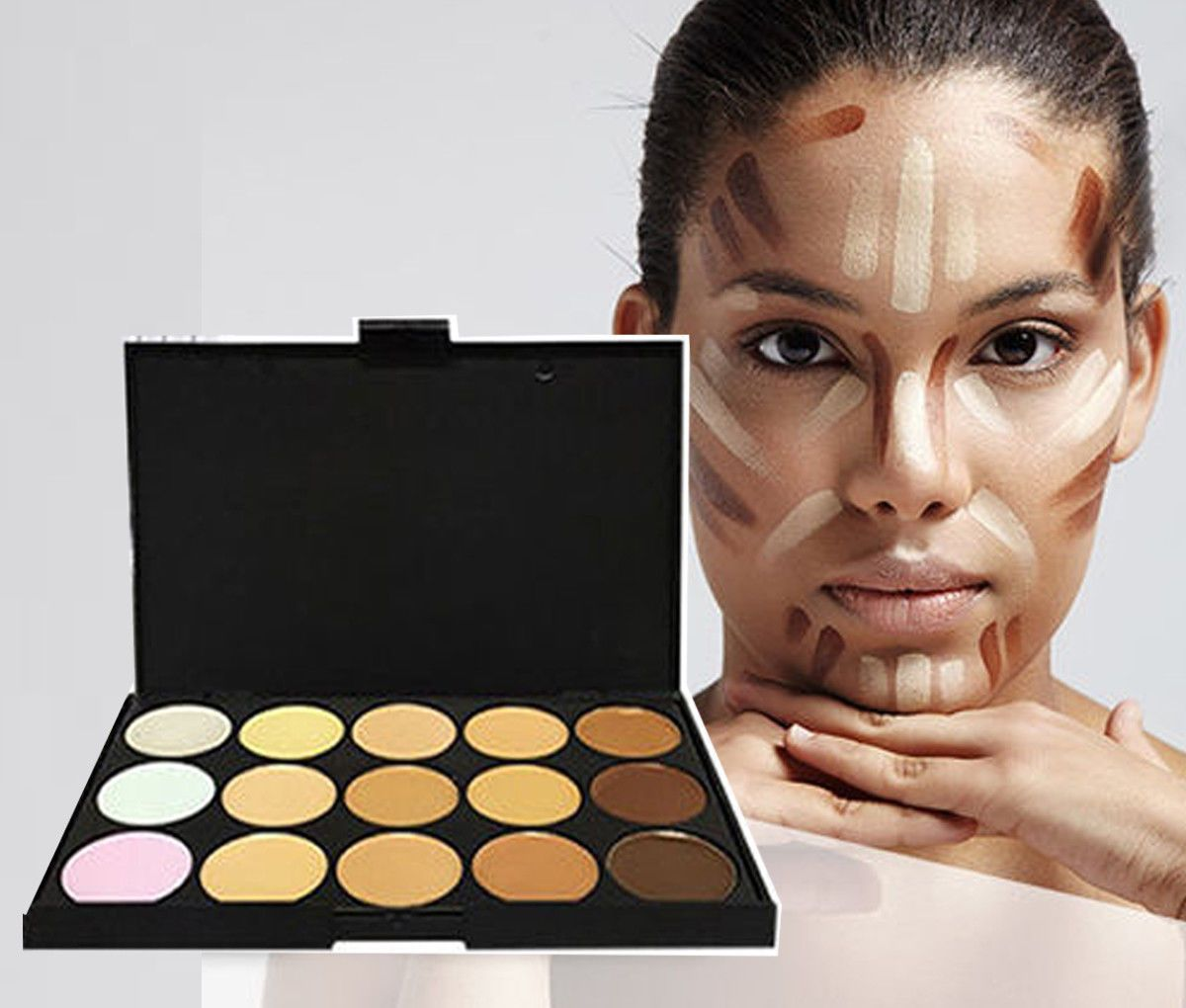 15 Shade Contour Palette by  My Wholesale Warehouse