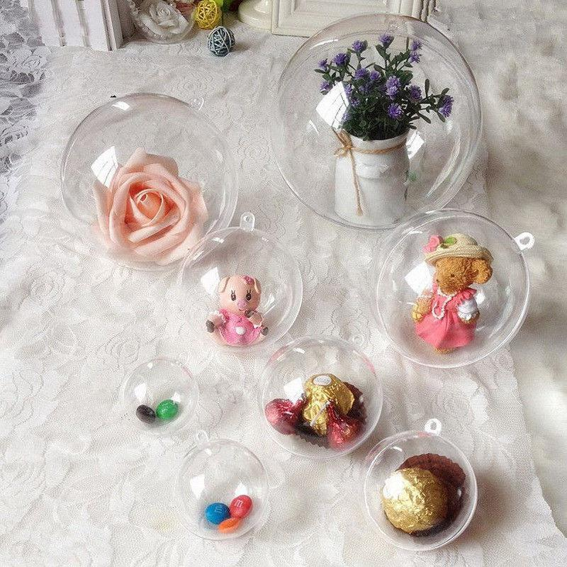DIY Christmas Baubles - 6cm or 8cm, Holiday Ornaments - Image 1