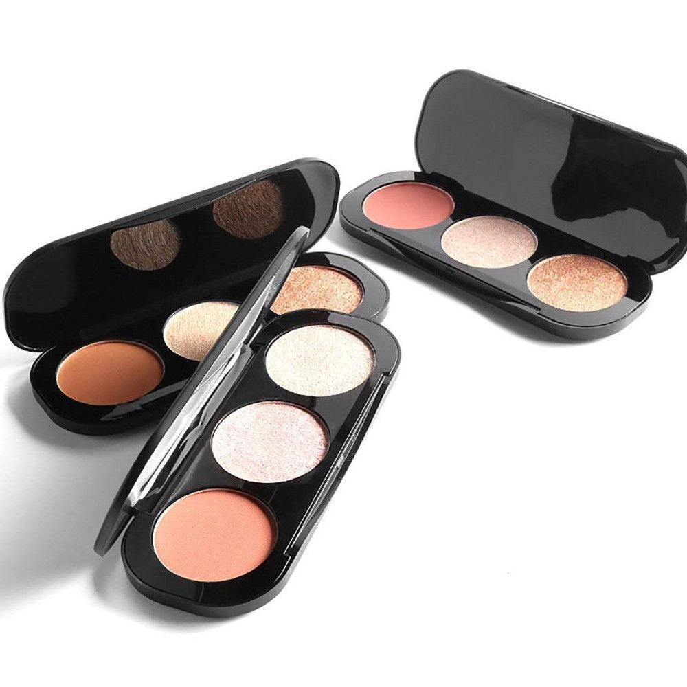 Focallure Triple Colour Blush & Highlighter Palette, Blushes & Bronzers - Image 2