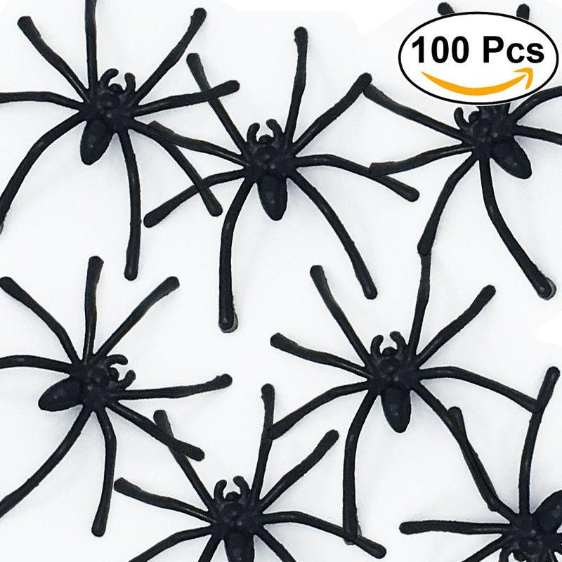 Prank Spiders Bag of 100, Party Supplies - Image 4