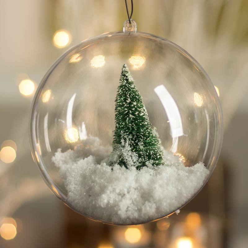 DIY Christmas Baubles - 6cm or 8cm, Holiday Ornaments - Image 4
