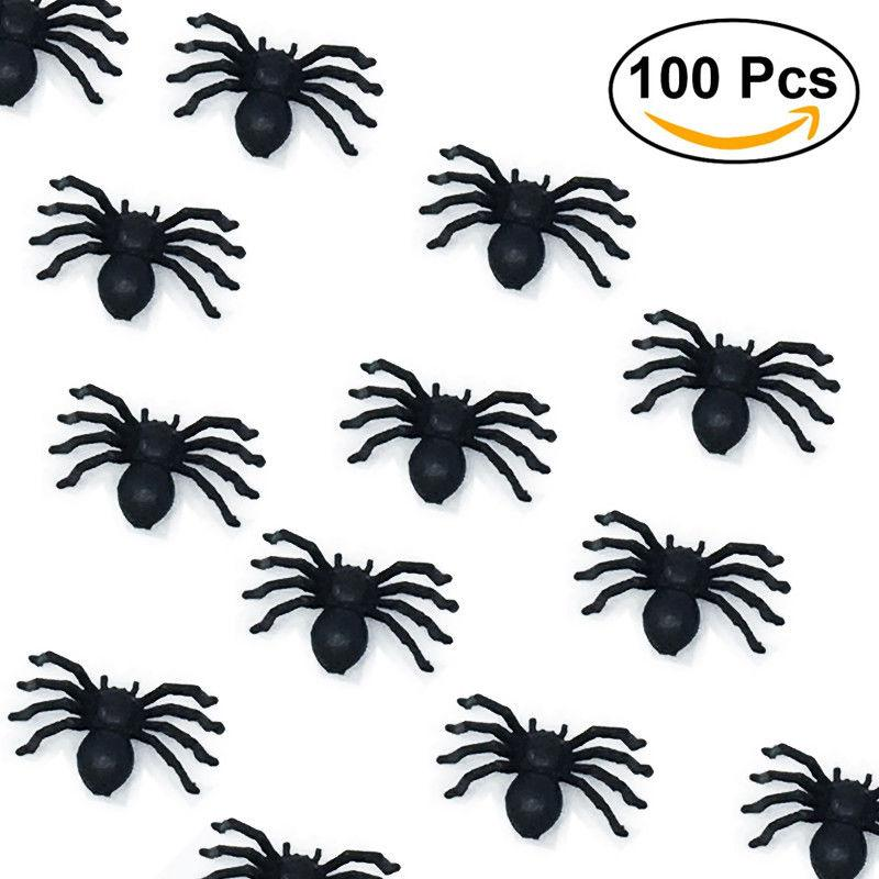Prank Spiders Bag of 100, Party Supplies - Image 5