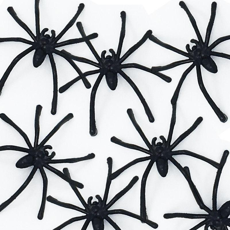 Prank Spiders Bag of 100, Party Supplies - Image 0