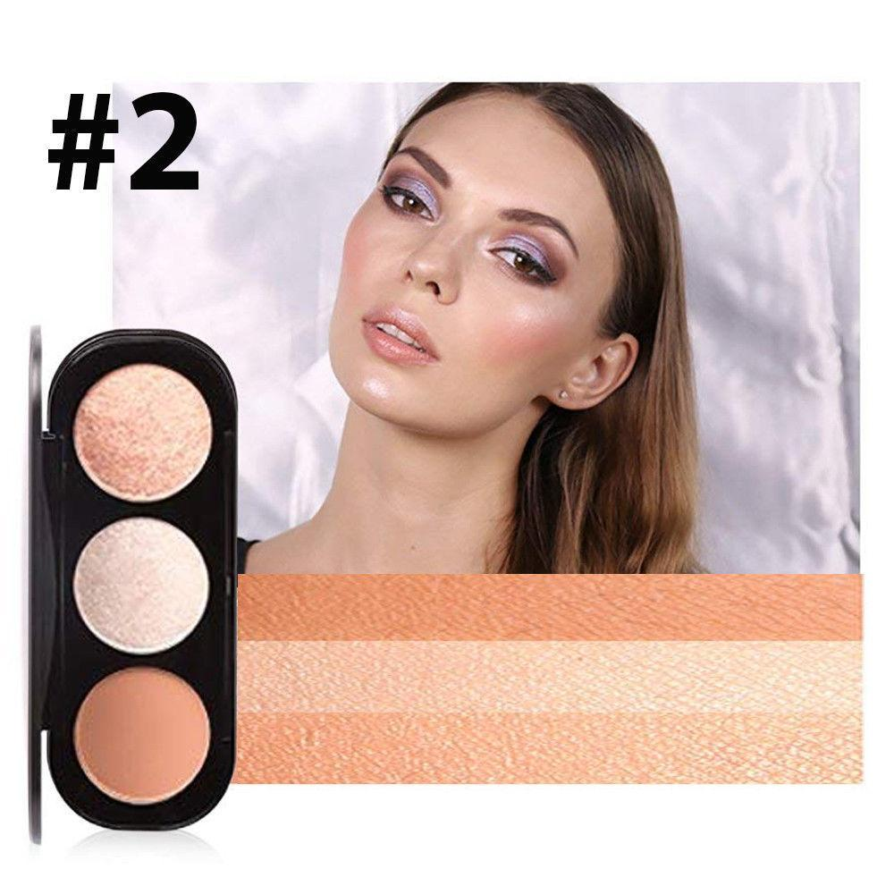 Focallure Triple Colour Blush & Highlighter Palette, Blushes & Bronzers - Image 6