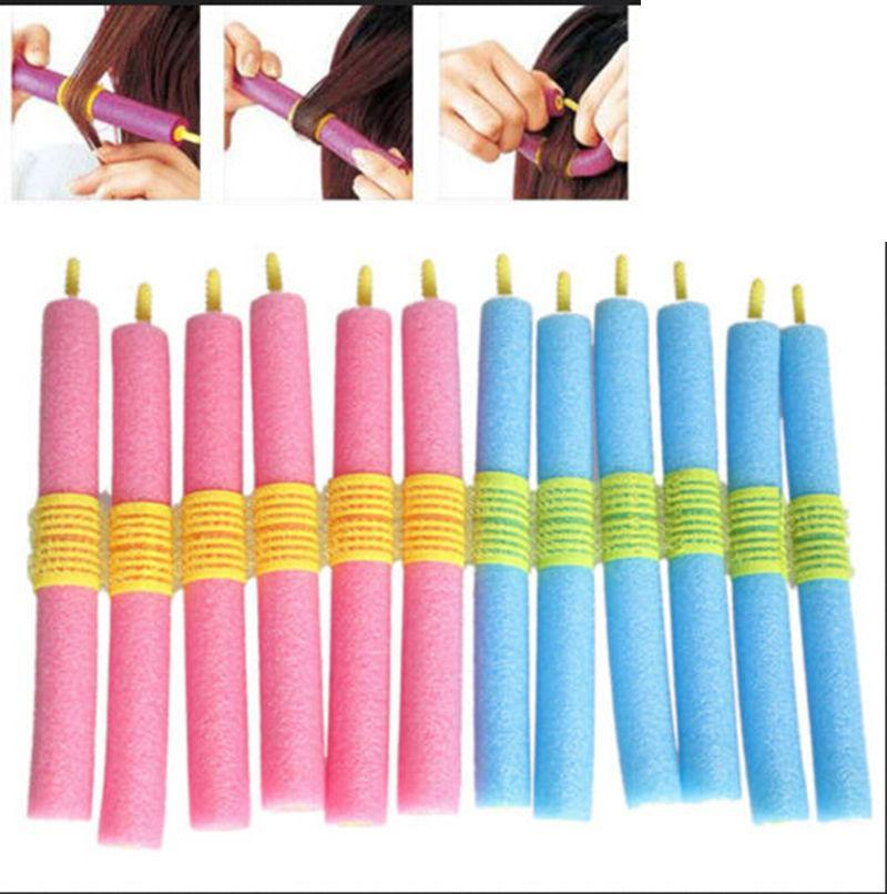Glamza Magic Hair Curlers 12 Set, Hair Care by My Wholesale Warehouse