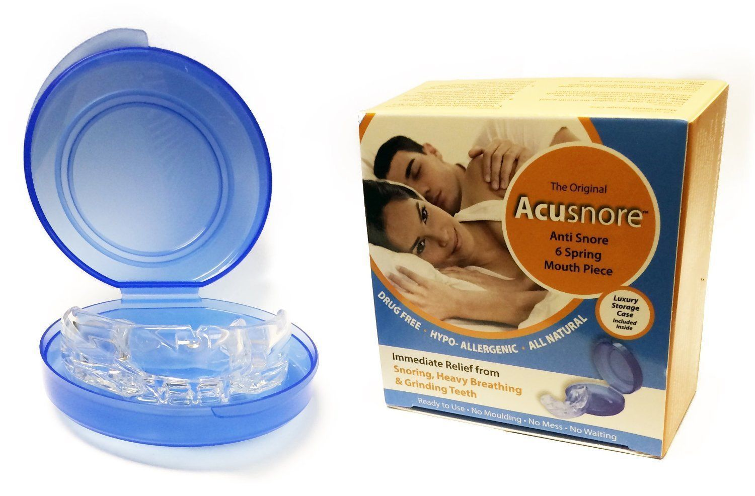 Acusnore Anti Snore 6 Spring Mouth Piece by  My Wholesale Warehouse