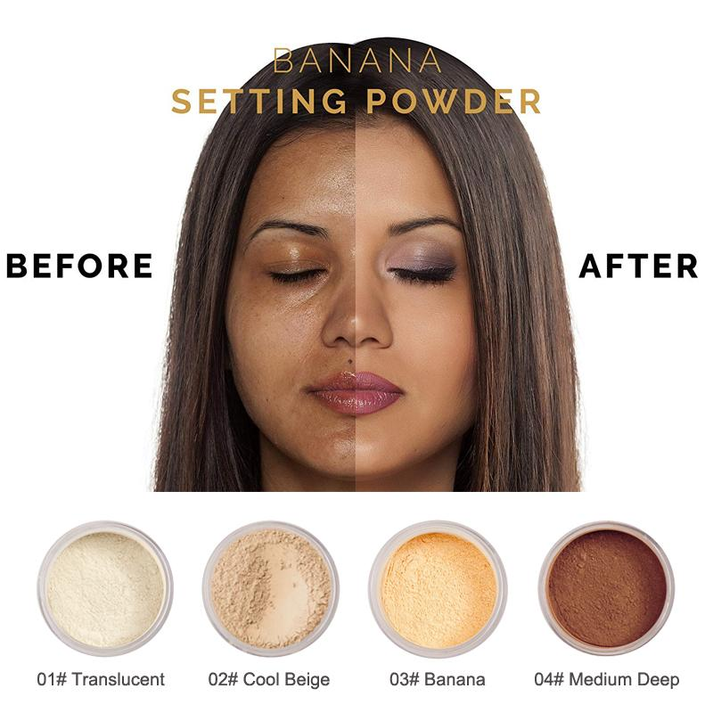PHOERA No Filter Setting Powder, Face Makeup by My Wholesale Warehouse
