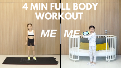 Me vs Me | 4min Fullbody Workout Routine