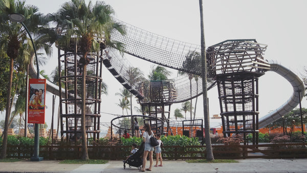 Siloso Beach Playground