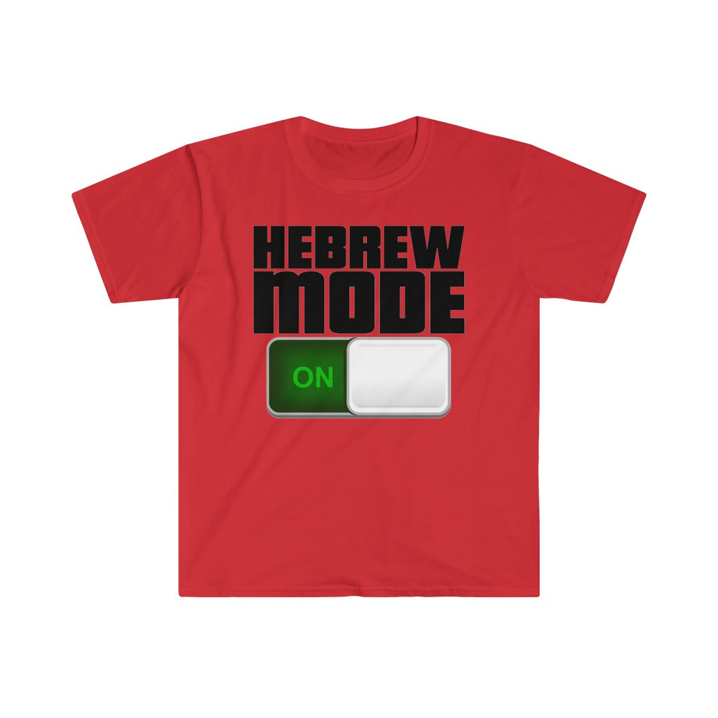 Men's Fitted Short Sleeve (Hebrew Mode) Tee