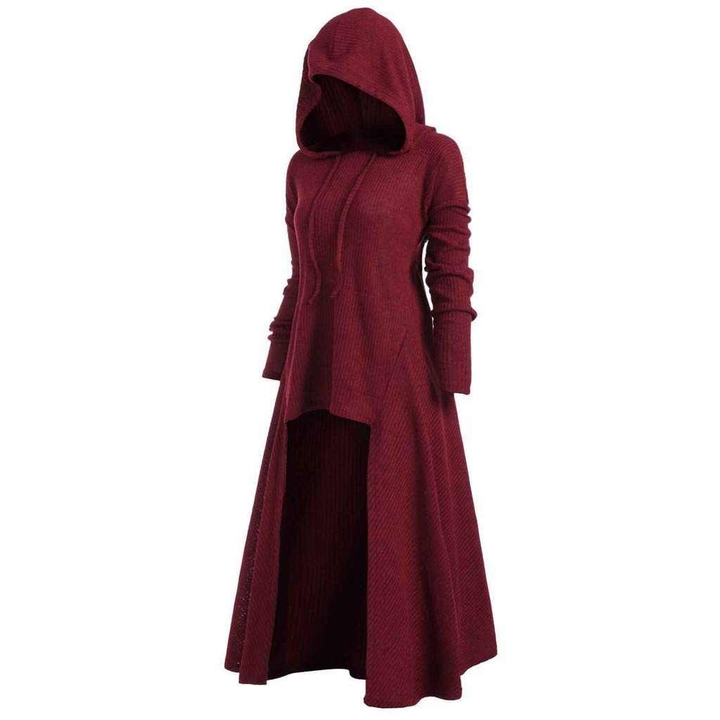 Womens Hooded Vintage Cloak