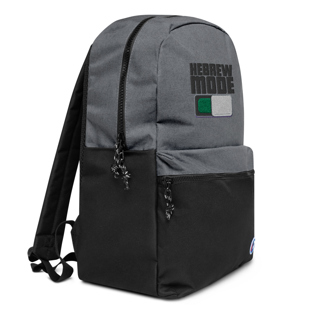 HebrewMode Champion Backpack