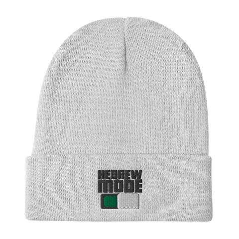 HebrewMode Embroidered Beanies