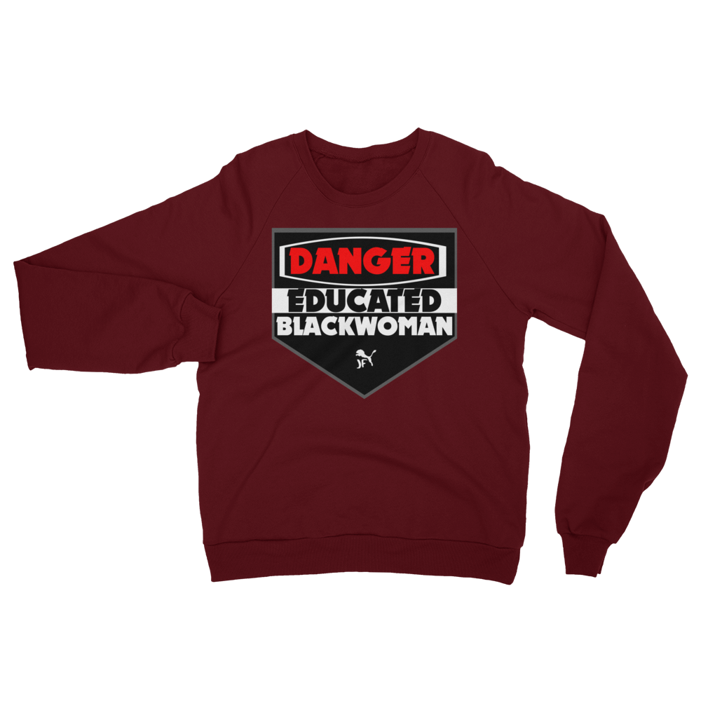 Ladies California Fleece Danger Sweatshirt