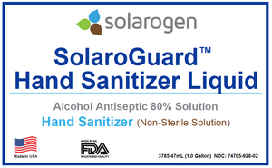 SolaroGuard™ Hand Sanitizer Liquid Solution | 1gal