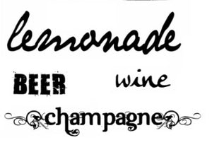Lemonade wine beer champagne - 140027